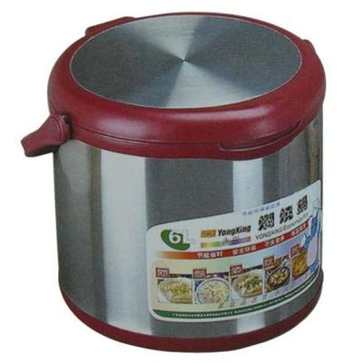 6.34 Qt. Stainless Steel Slow Cooker with Stainless Steel Insert