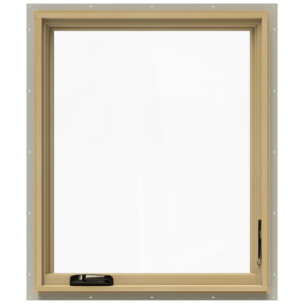 30.75 in. x 36.75 in. W-2500 Right-Hand Casement Wood Window