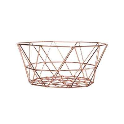 Copper Chicken Egg Basket