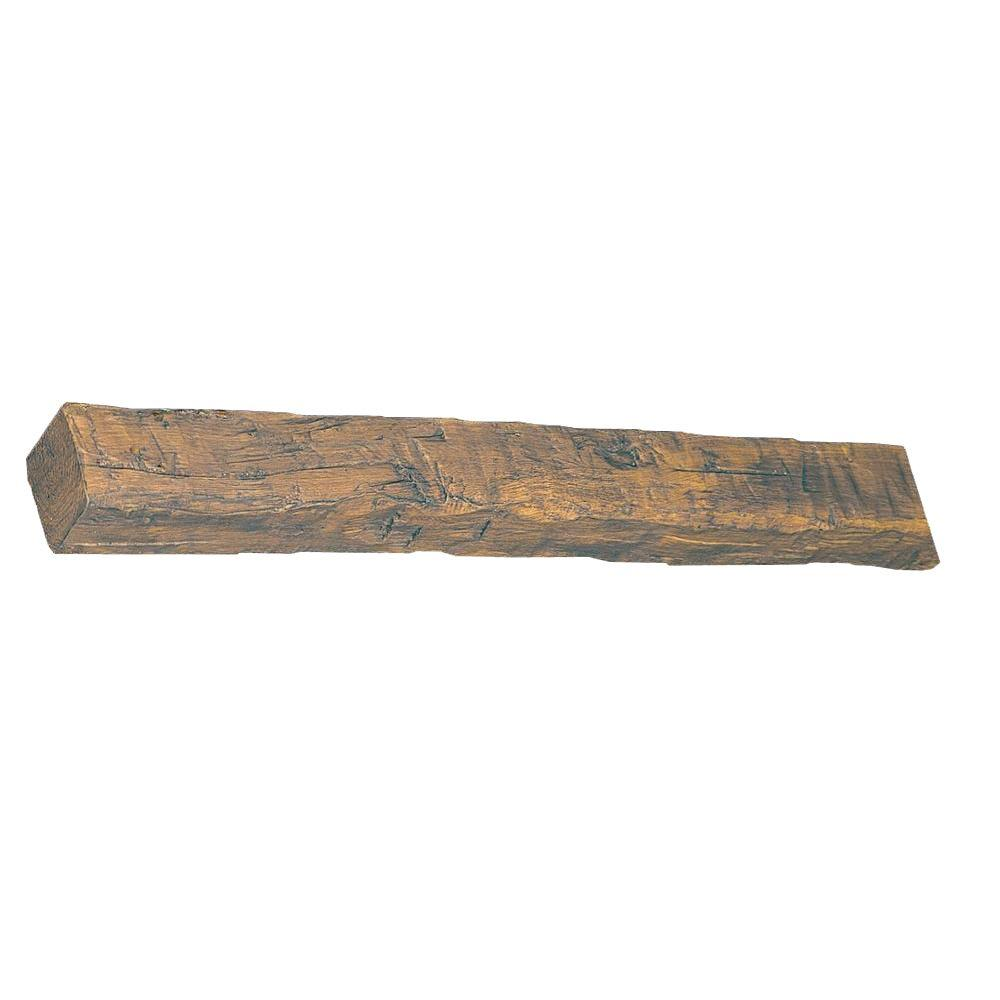 Superior Building Supplies 4-7/8 in. x 4-3/4 in. x 14 ft. 9 in. Faux Wood Beam