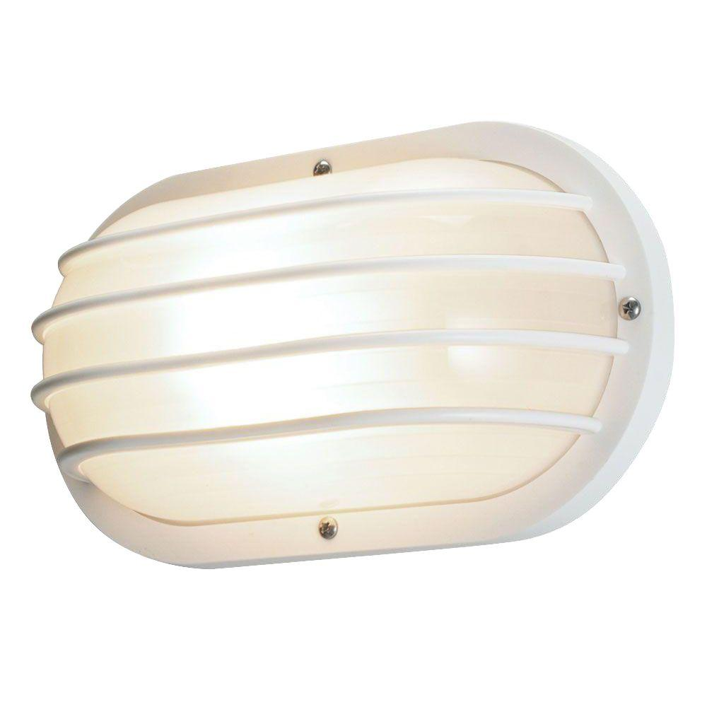 White - Outdoor Wall Mounted Lighting - Outdoor Lighting - The ...