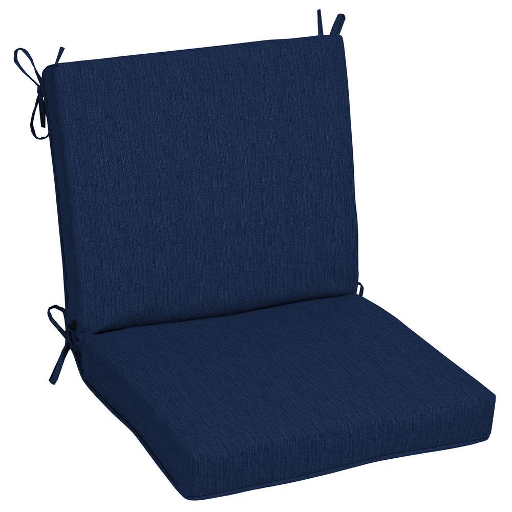 Sunbrella Spectrum Indigo Outdoor Dining Chair Cushion