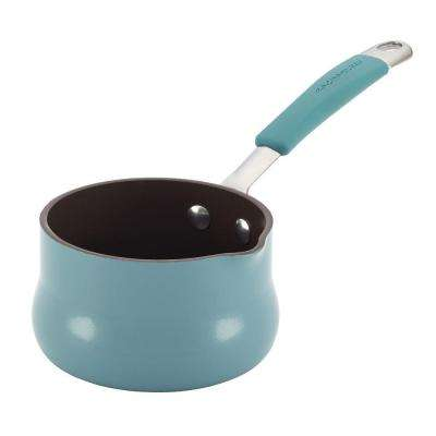 Cucina 0.75 Qt. Hard Enamel Nonstick Butter Warmer