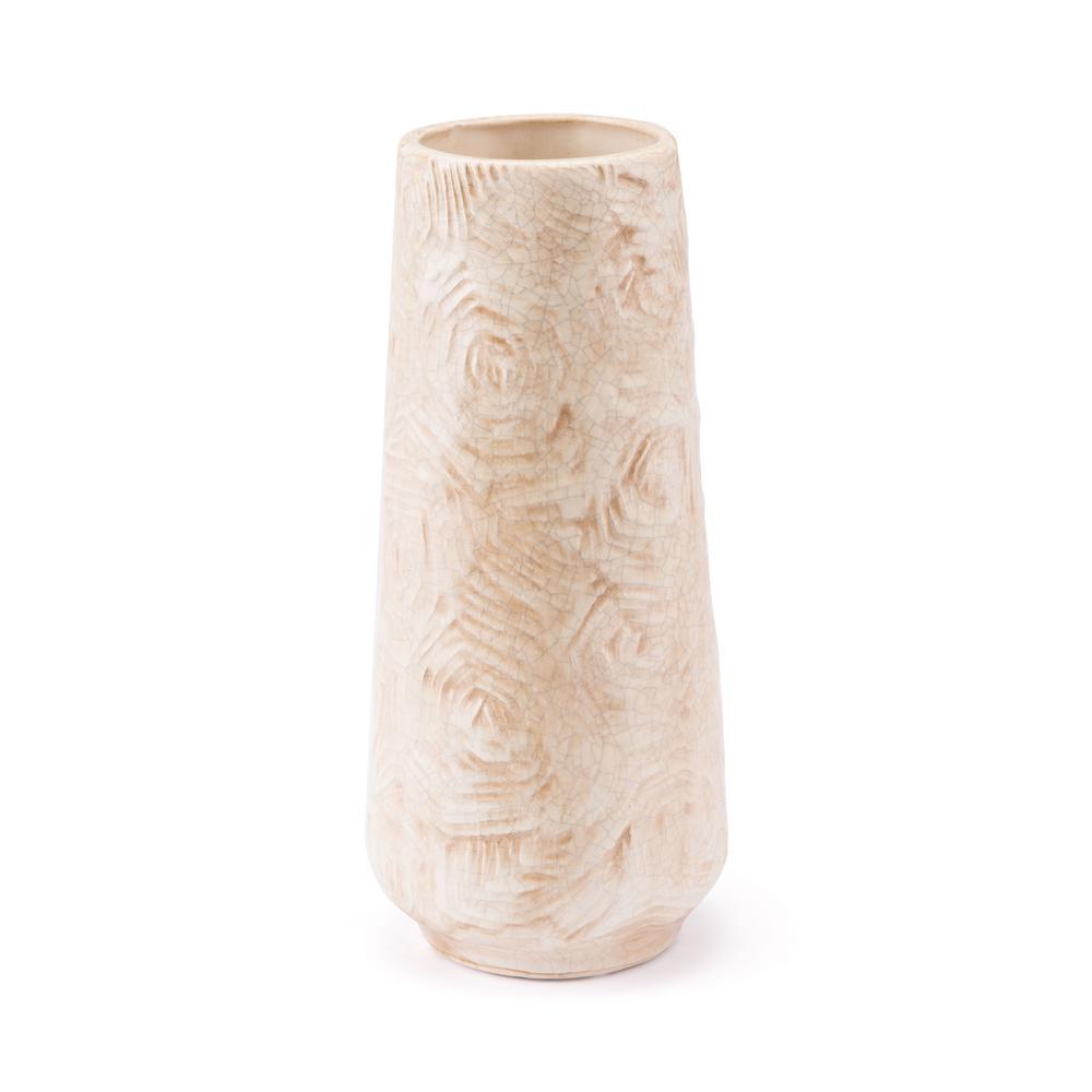 Beige Small Decorative Vase