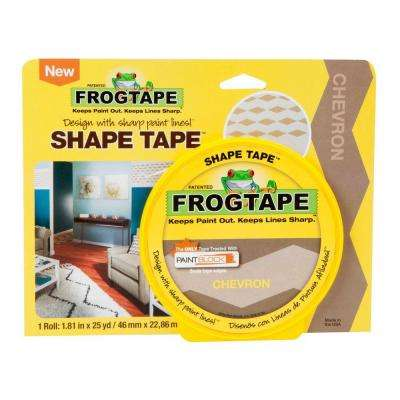 1.81 in. x 25 yds. Chevron Shape Tape (4-Pack)
