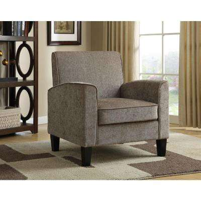 Gray Fabric Arm Chair