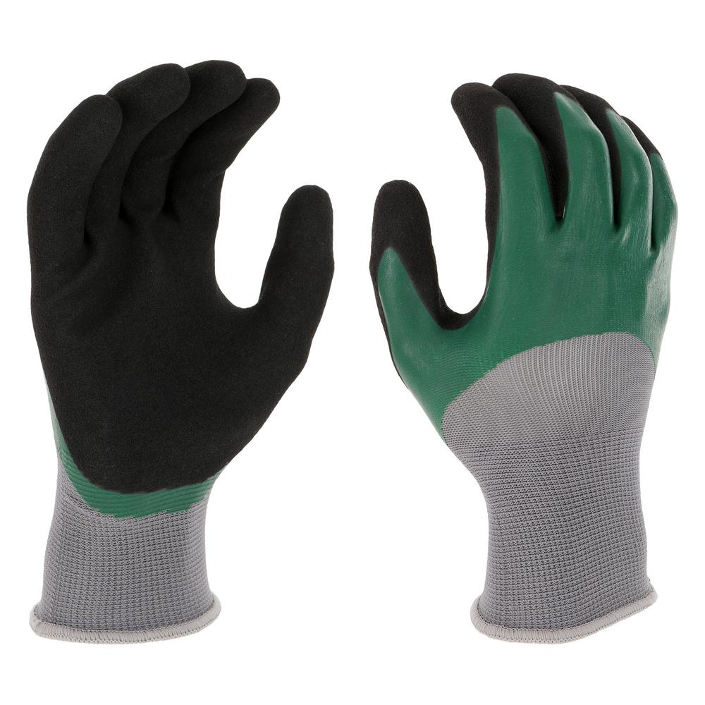 West Chester Protective Gear Men's Large Double Dipped Latex Glove