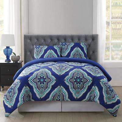 Harper 3-Piece Multiple Full and Queen Comforter with Shams