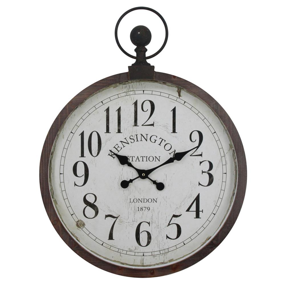 Yosemite Home Decor Kensington Station Pocket Watch Style
