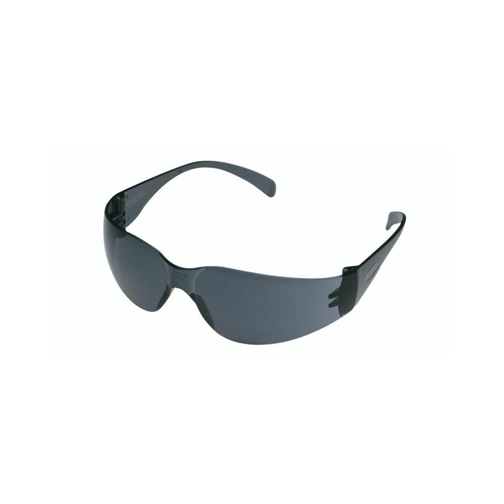 3M Gray Frame with Gray Scratch Resistant Lenses Outdoor Safety Glasses