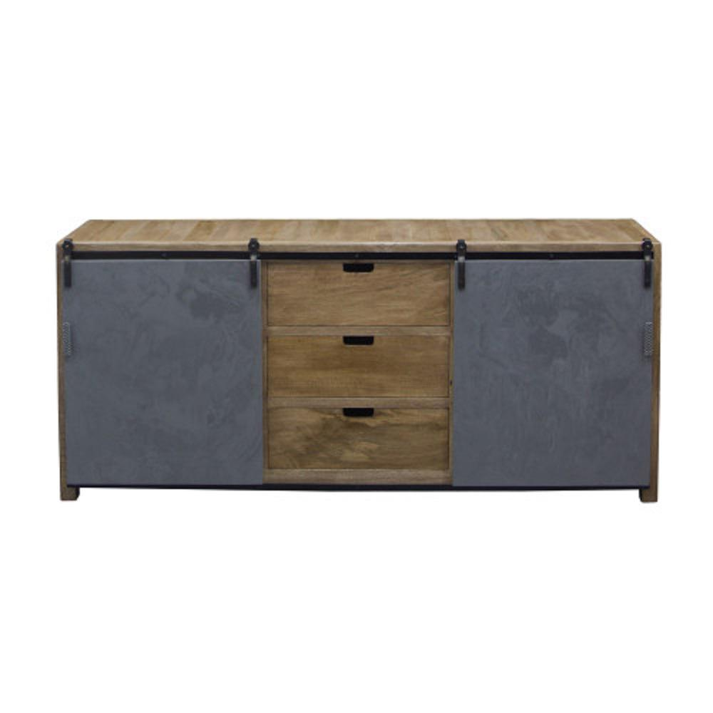 Yosemite Home Decor Grey Sideboard Grey