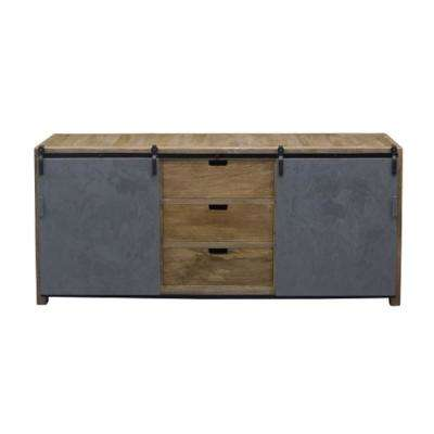Ettenbough Collection Natural and Grey Sideboard