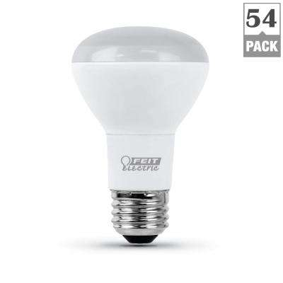 45-Watt Equivalent R20 Dimmable CEC Title 24 Compliant LED ENERGY STAR Flood Light Bulb, Soft White (54-Pack)
