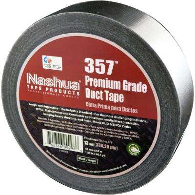 1.89 in. x 60.1 yds. 357 Black Ultra Premium Duct Tape