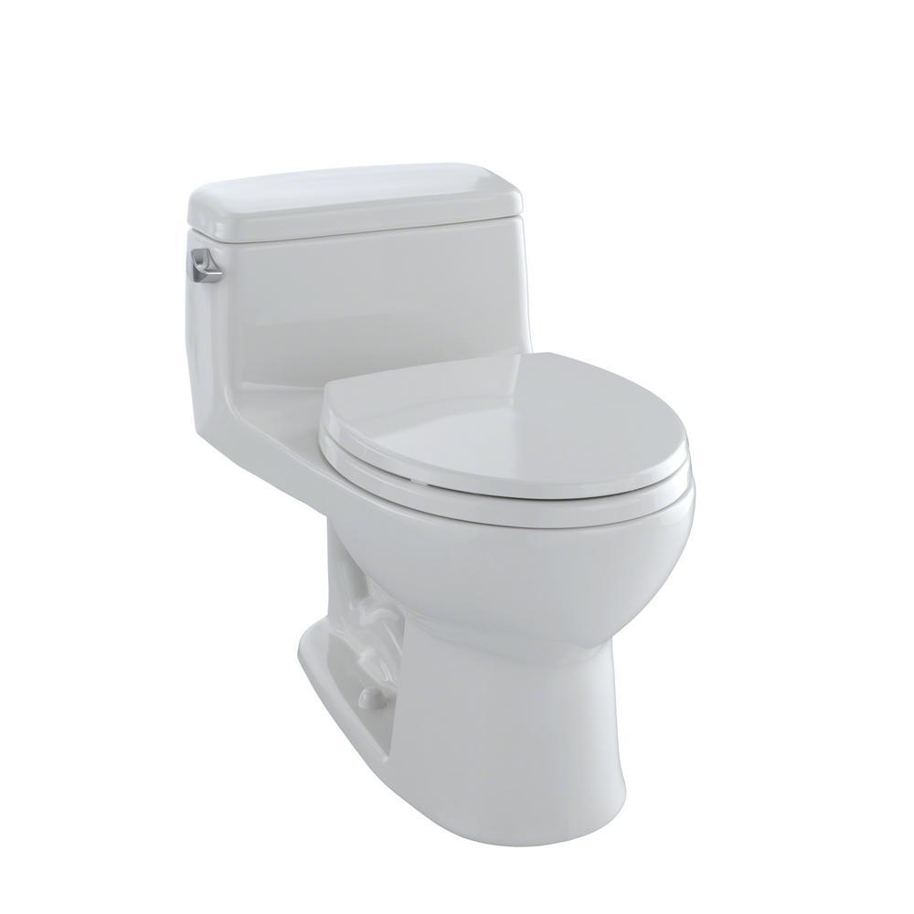 toto eco supreme 1 piece gpf single flush round toilet in colonial white ms863113e 11 the. Black Bedroom Furniture Sets. Home Design Ideas