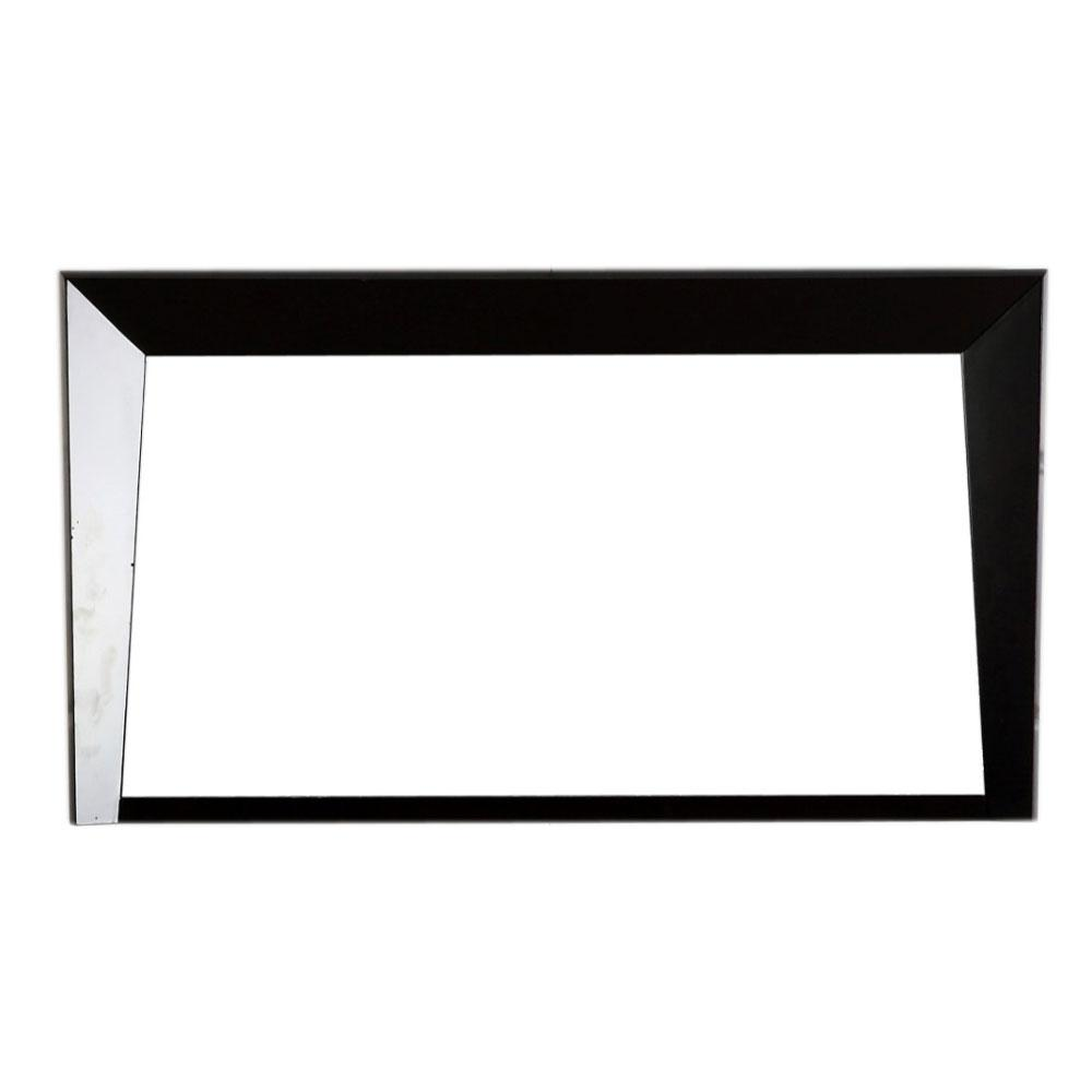 Bellaterra Home Colma 46 In X 26 Single Framed Wall Mirror Dark Espresso 500410 Mir Es 48 The Depot