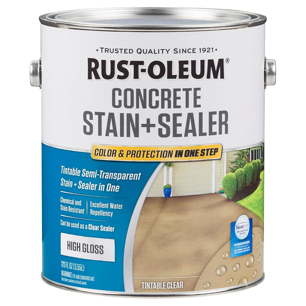 1 -gal. Clear High Gloss Concrete Water Repellent Sealer