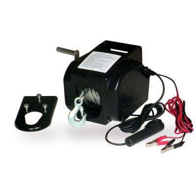 2000 lb. 12-Volt Portable Winch