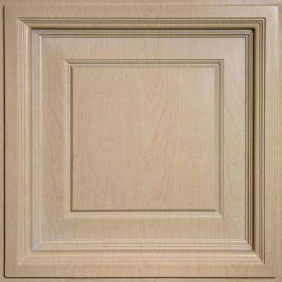 Madison Faux Wood Sandal 2 Ft X 2 Ft Lay In Coffered Ceiling Panel Case Of 6
