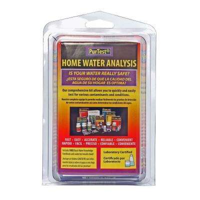 Home Water Analysis Kit