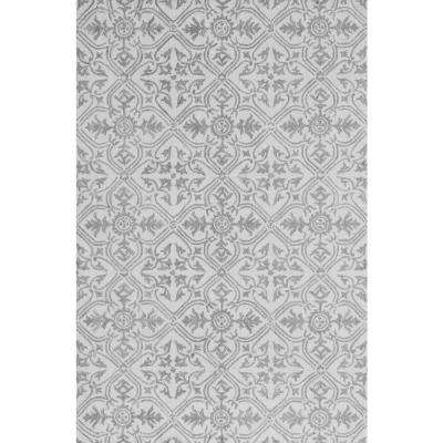 Filigree Beige 9 ft. x 13 ft. Indoor Area Rug