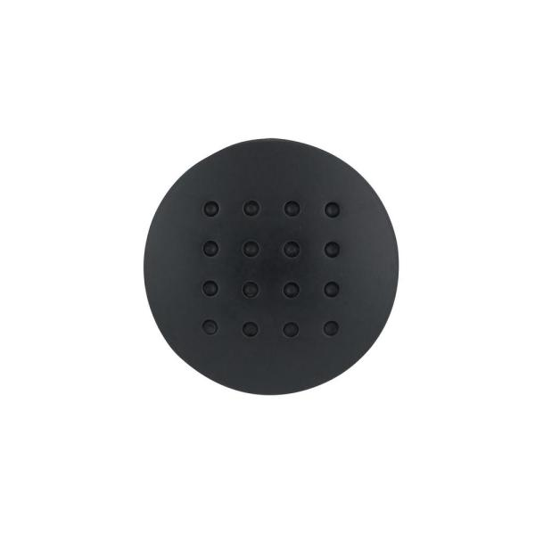 Richelieu Hardware 1 5 16 In 34 Mm Matte Black Contemporary Metal Cabinet Knob Bp2608900 The Home Depot