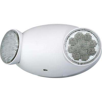 2-Light White LED Emergency Fixture Unit