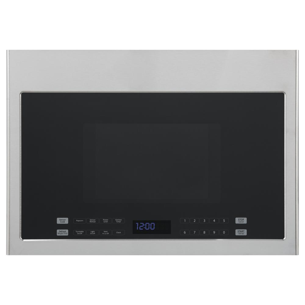Haier 24 In 1 4 Cu Ft Over The Range Microwave Stainless Steel
