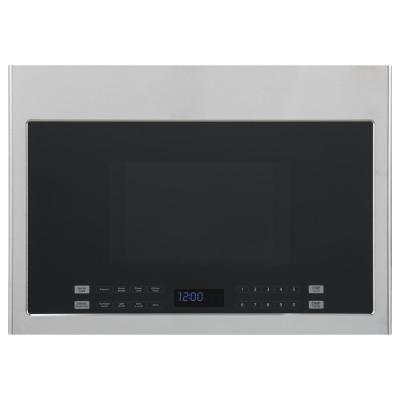 24 in. 1.4 cu. ft. Over the Range Microwave in Stainless Steel