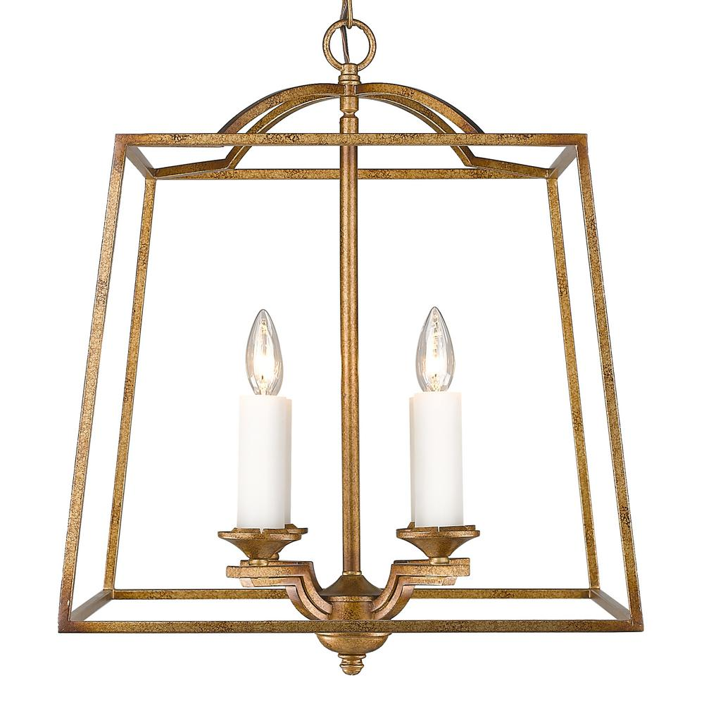 Golden Lighting Athena 4-Light Grecian Gold Pendant  sc 1 st  Home Depot & Golden Lighting Athena 4-Light Grecian Gold Pendant-3072-4P GG ... azcodes.com