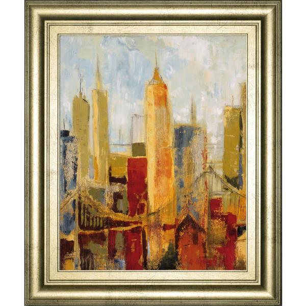 Classy Art 22 in. x 26 in. ''Metro Heights Details I''