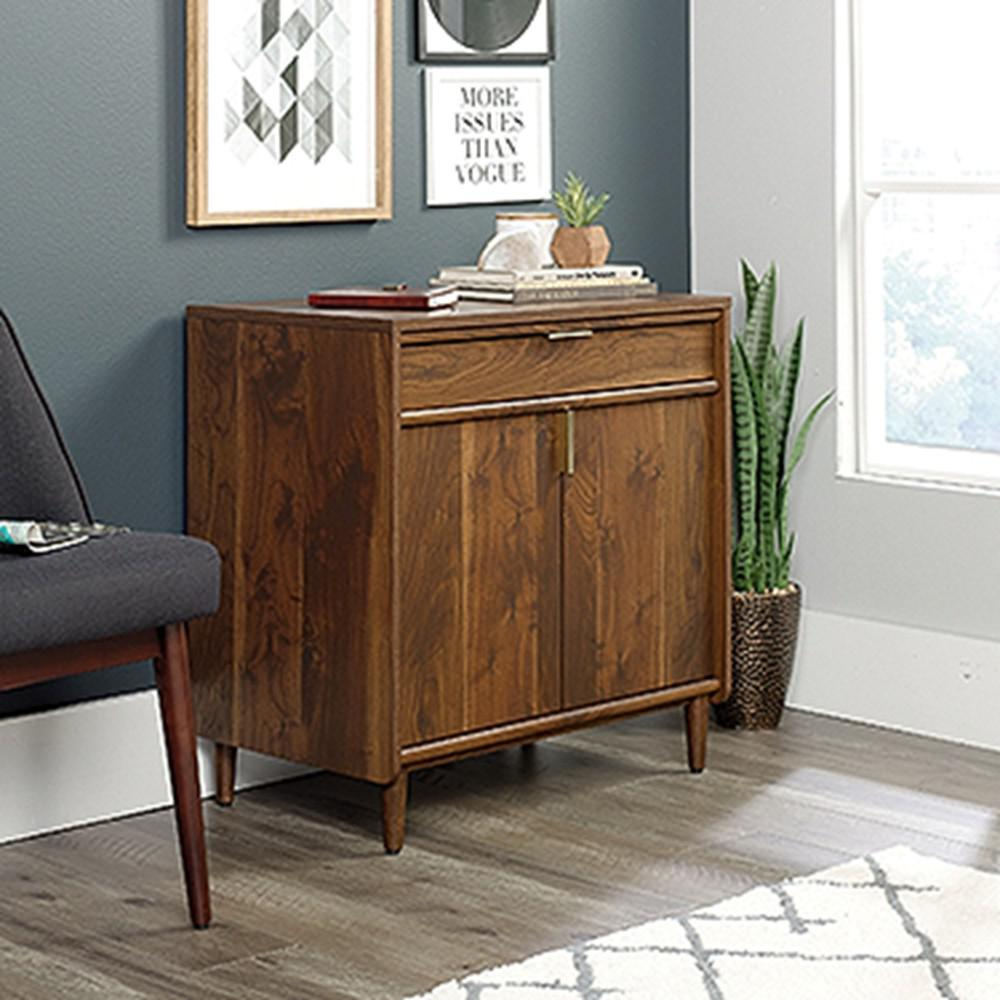 SAUDER Clifford Place Grand Walnut Library Base Cabinet