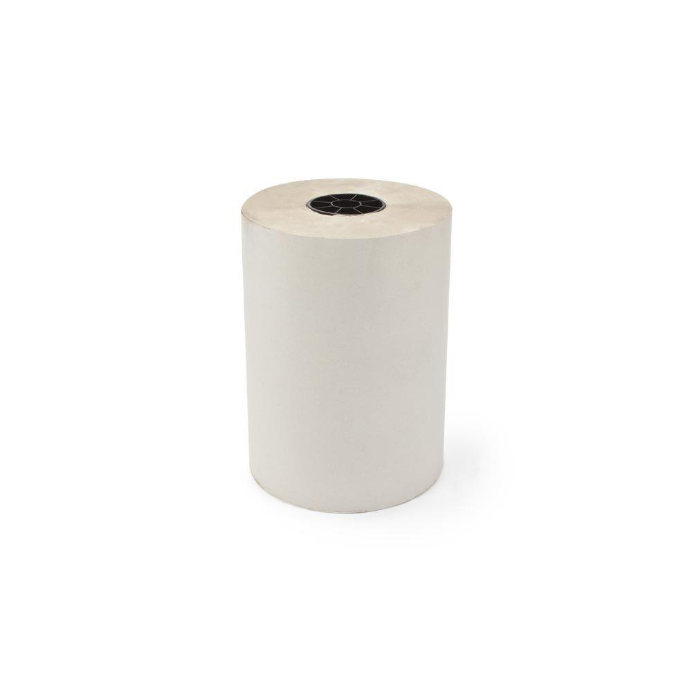 12 in. x 1695 ft. 30# White Newsprint Roll