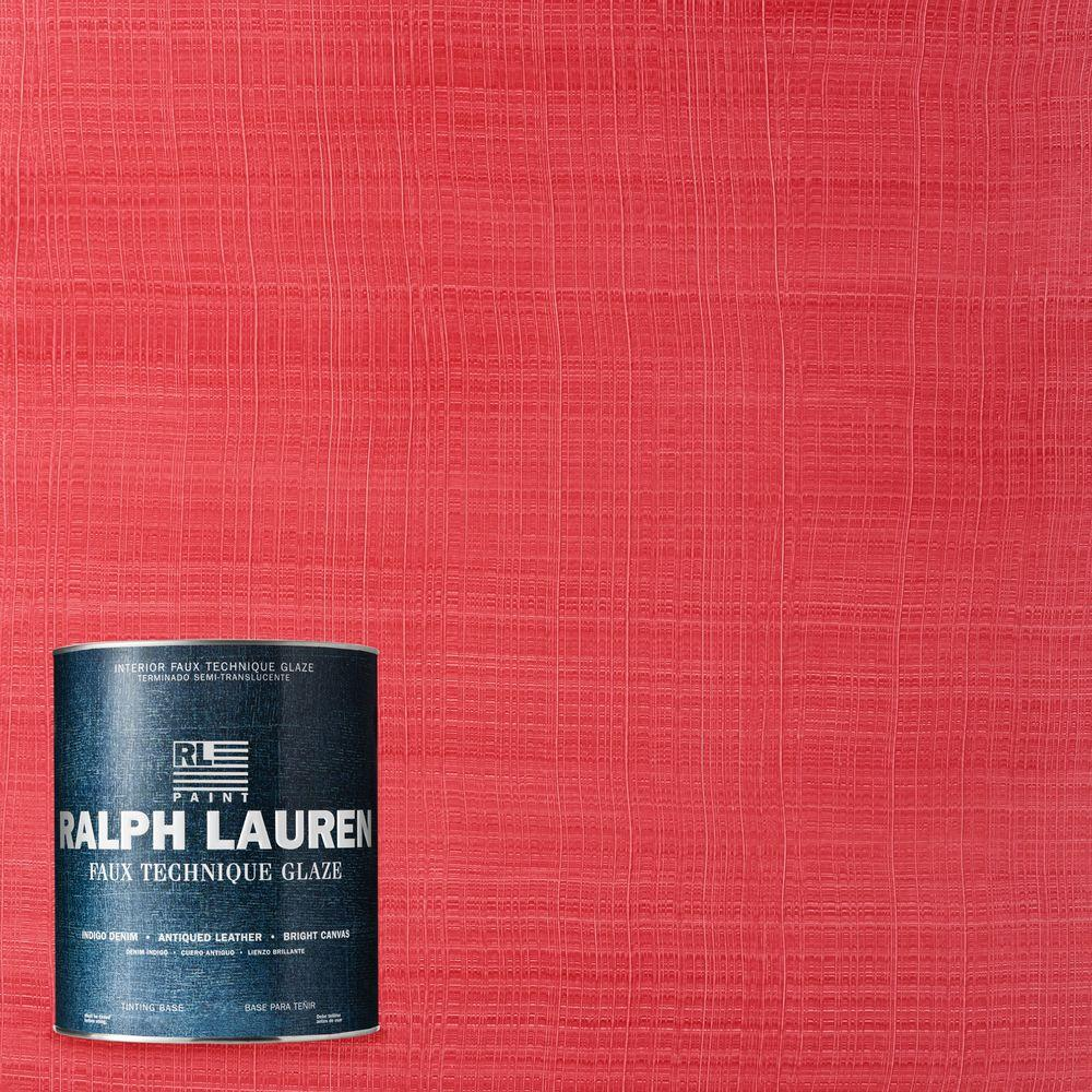 Ralph Lauren 1-qt. Paisley Pink Bright Canvas Specialty Finish Interior Paint