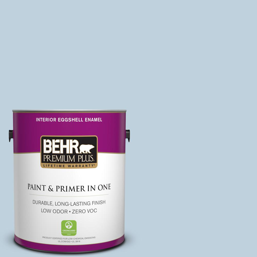 BEHR Premium Plus 1-gal. #550E-2 Eminence Zero VOC Eggshell Enamel Interior Paint