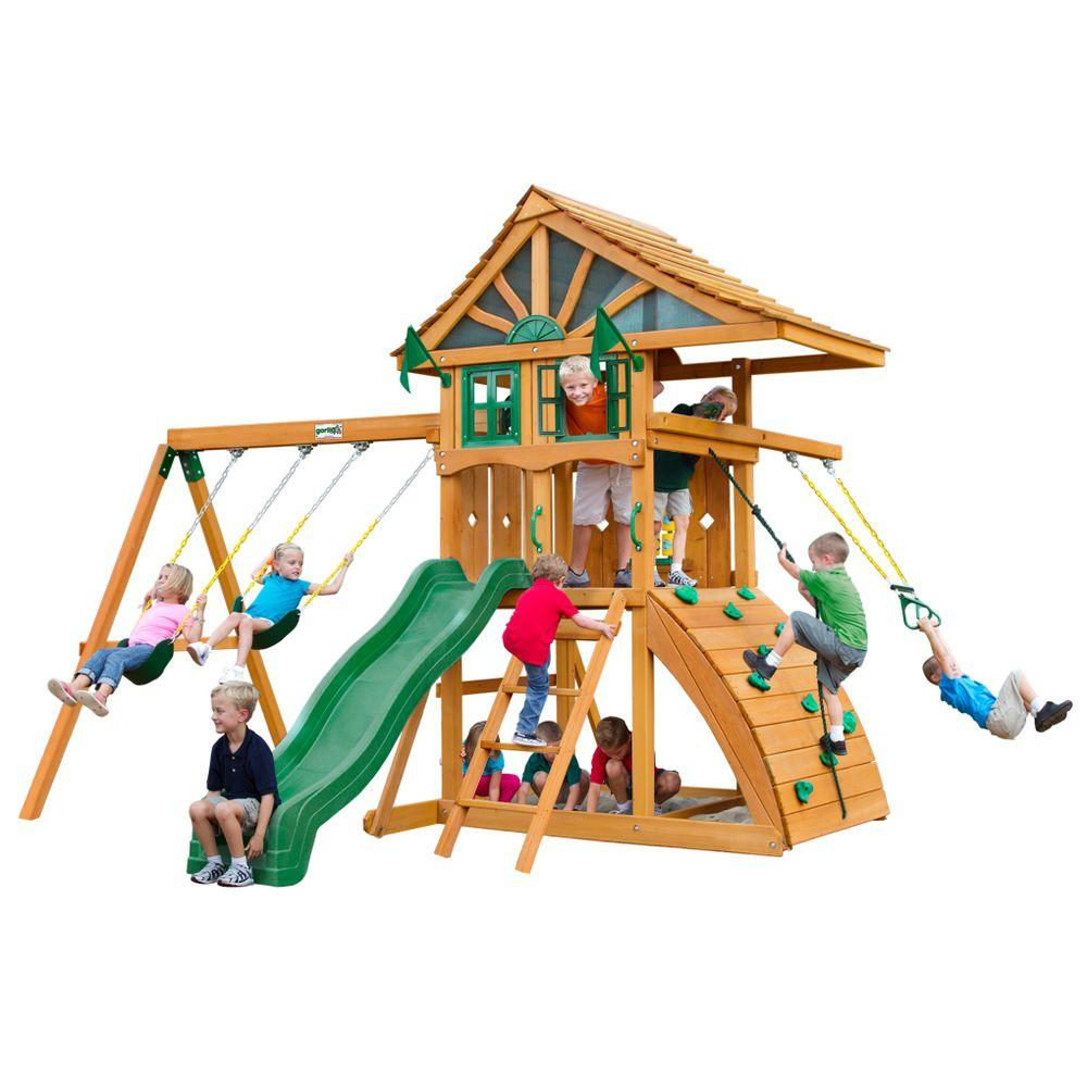 Gorilla Playsets Ovation Cedar Play Set