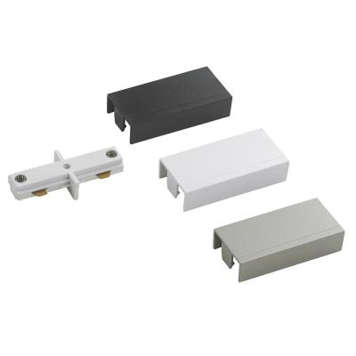 2400-Watt Linear Track to Track Coupler with White, Black and Brushed Nickel Cover
