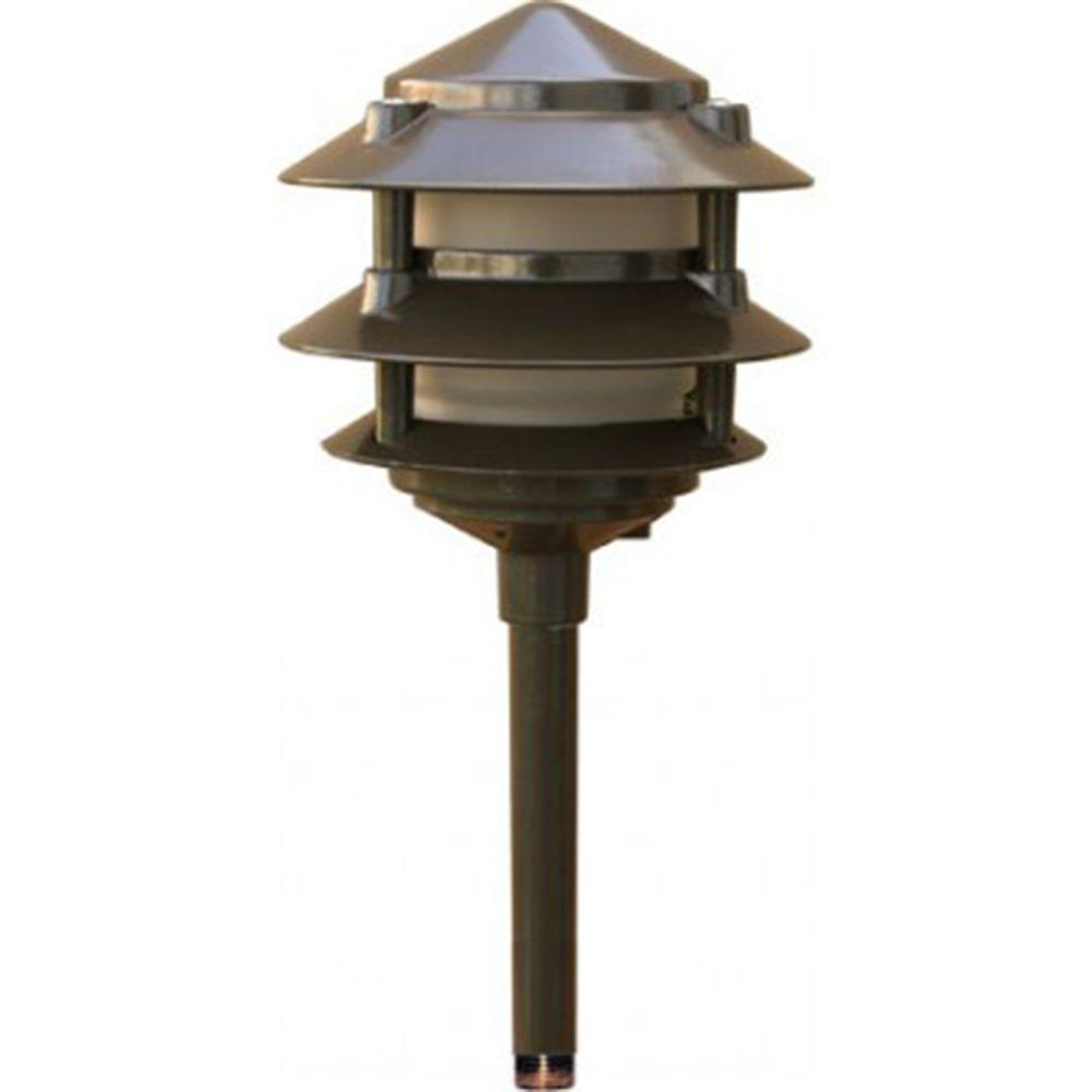 Mr Beams Wireless Bronze Motion Sensing Outdoor Integrated