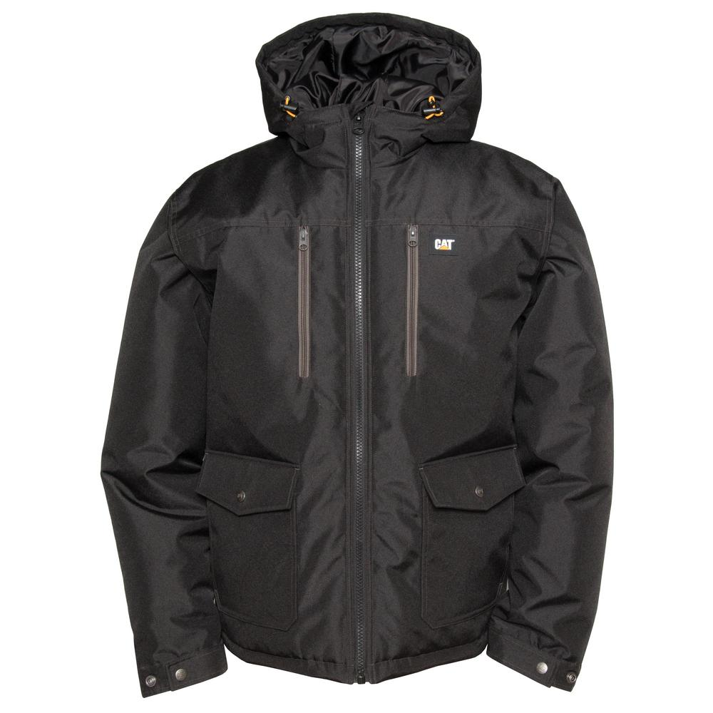 Aspen Men's X-Large Black Polyester Water Resistant Insulated Jacket