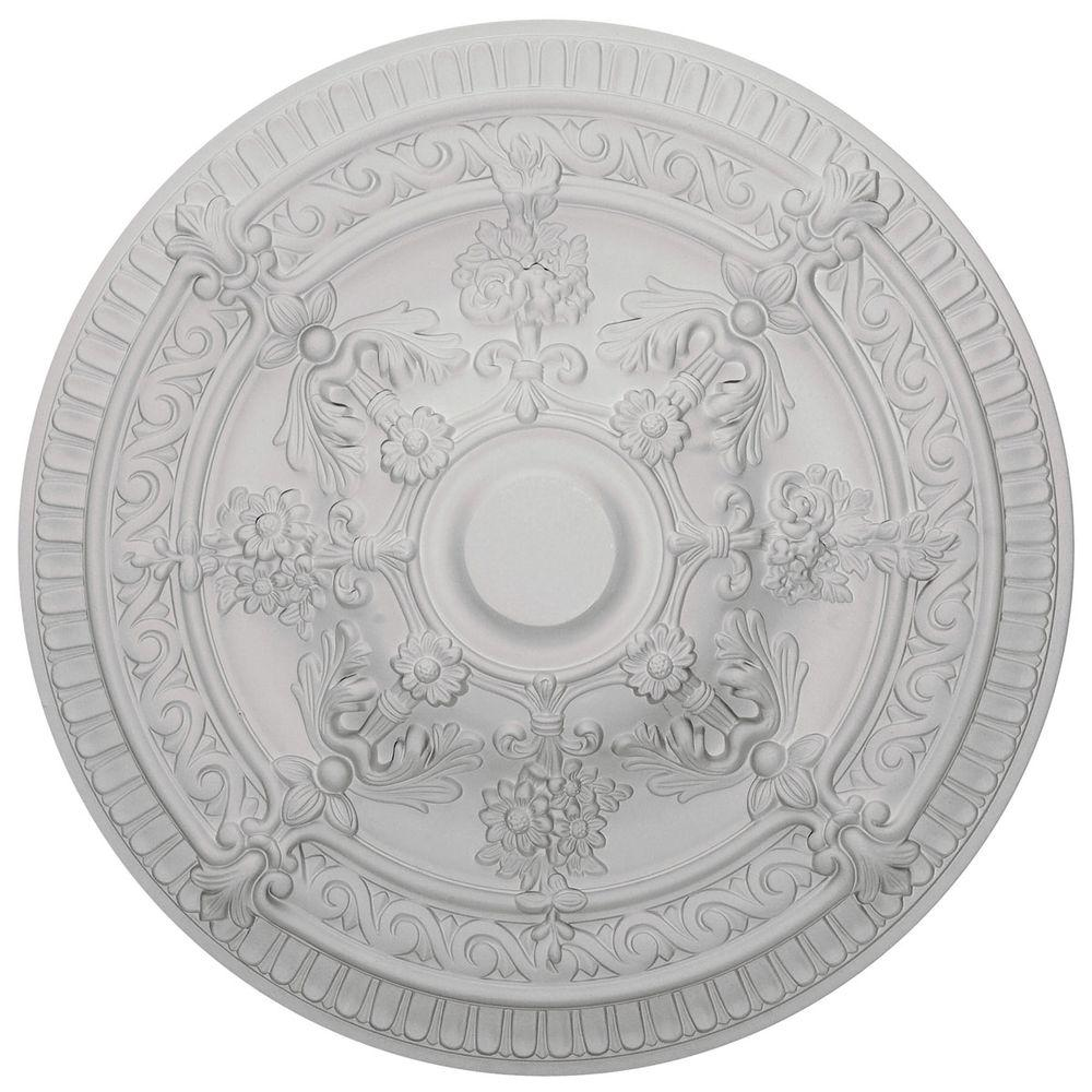 Ekena Millwork 26 in. O.D. x 3 in. P Vincent Ceiling Medallion
