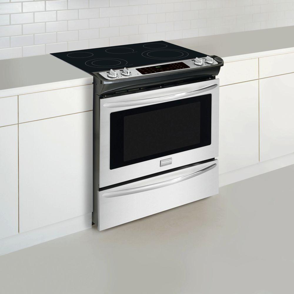 Frigidaire Gallery 30 In 4 6 Cu Ft Slide Electric Range With