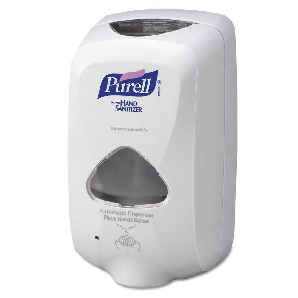 6 in. x 4 in. x 10-1/2 in. 1200 ml TFX Touch Free Dispenser in Gray