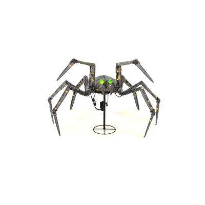 325 in warm white led animated spider