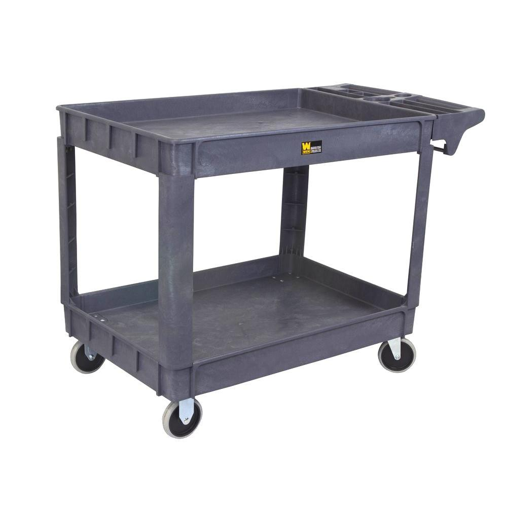 Weigh-Tronix 500 lb. Capacity 36 in. Service Cart, Gray