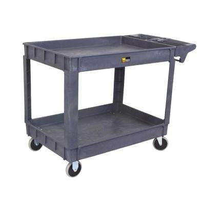 500 lb. Capacity 36 in. Service Cart, Gray