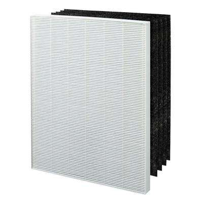 True HEPA plus 4 Carbon Filters, Replacement Filter C