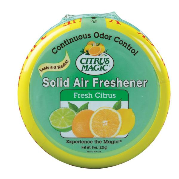 8 oz. Fresh Citrus Solid Odor Absorbing Air Freshener (2-Pack)
