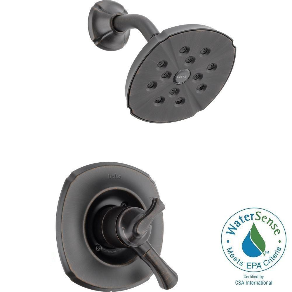 Addison 1 Handle H2okinetic Shower Only Faucet Trim Kit In Venetian Bronze