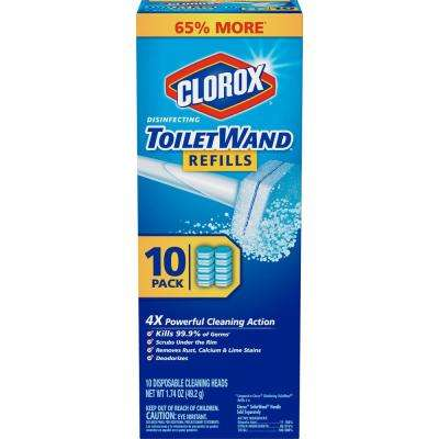 ToiletWand Disposable Toilet Cleaning Refill (10-Count)
