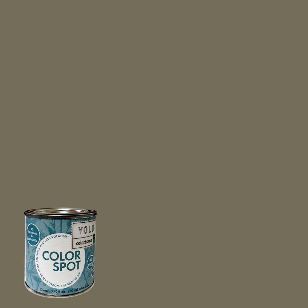YOLO Colorhouse 8 oz. Stone .06 ColorSpot Eggshell Interior Paint Sample-DISCONTINUED